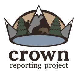 Logo for the Crown of the Continent Reporting Project