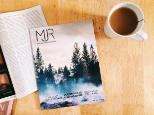 Photo of the printed edition of MJR 2016