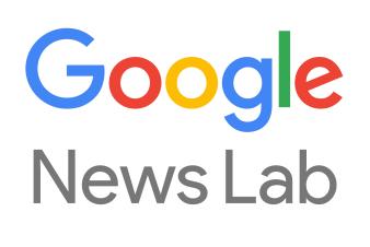 Google News Lab text logo